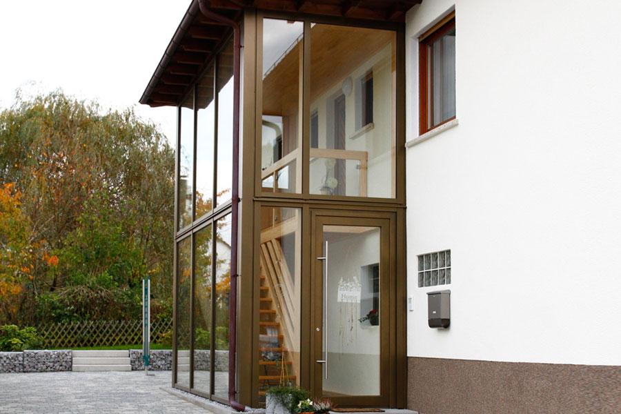 Windfang in 35232 Dautphetal von Russ Holzbau