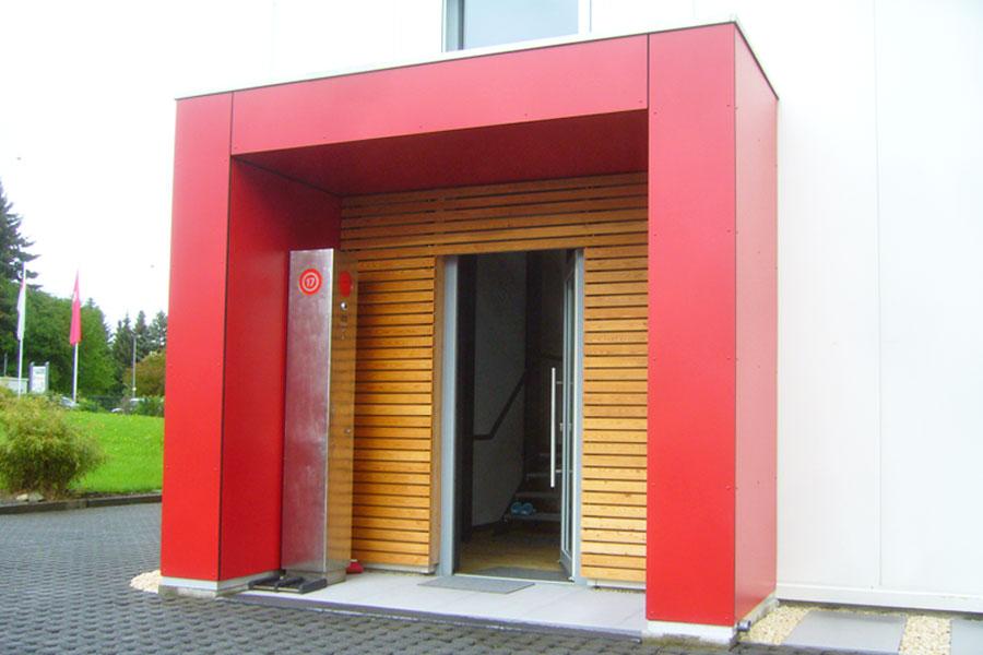 Vordach in 61273 Wehrheim von Russ Holzbau