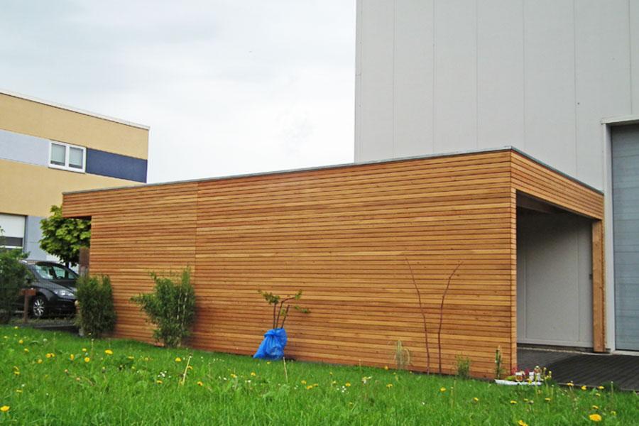 Garage in 61273 Wehrheim von Russ Holzbau