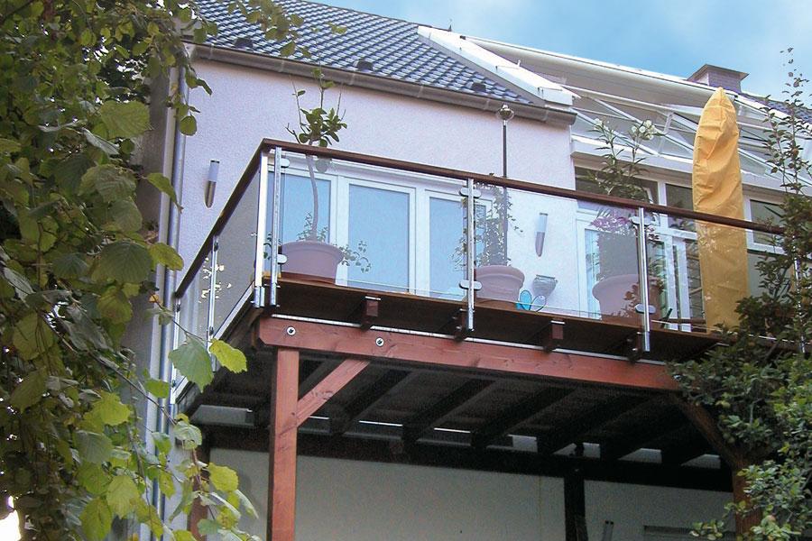 Russ Holzbau russ carports referenzen balkone
