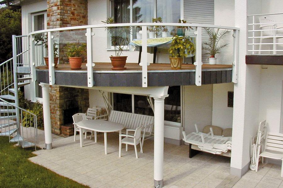 Balkon in 34745 Herborn von Russ Holzbau