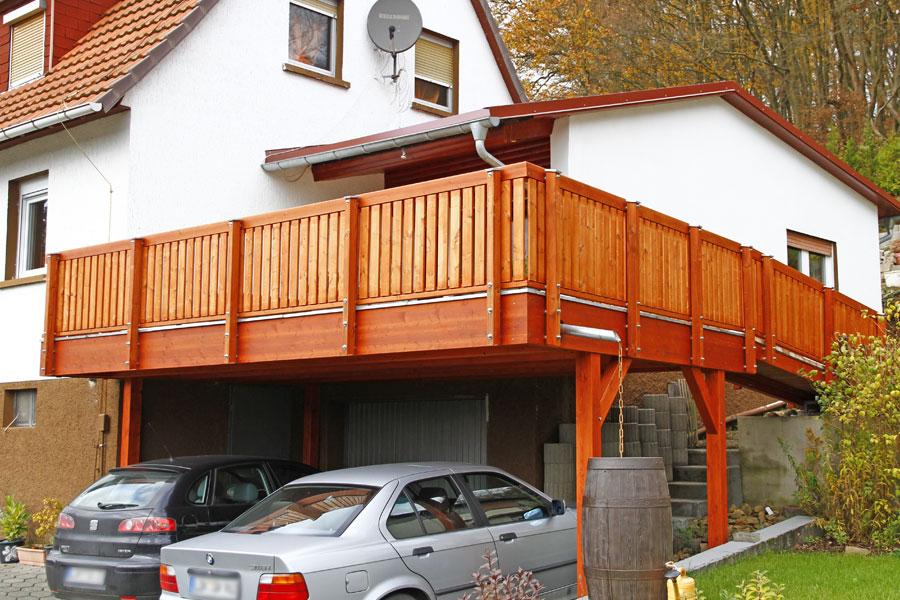 Russ carports balkon in 35768 siegbach balkon in siegbach for Balkon carport