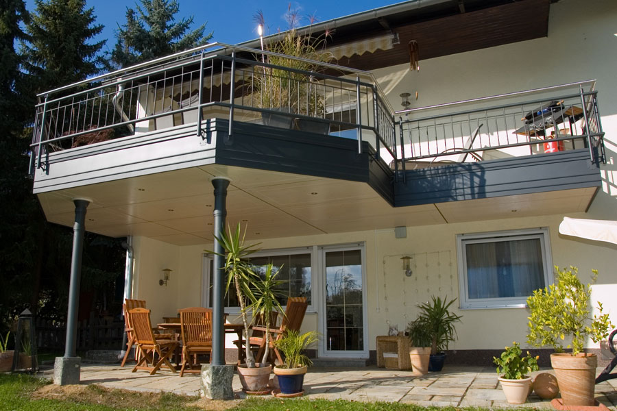 Referenzen Balkone von Russ Holzbau